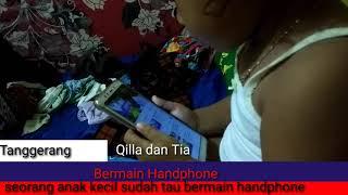 Vidio Anaka Zaman Sekarang Udah Pintar Main Handphone