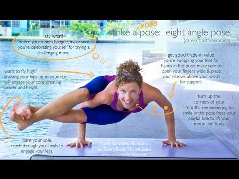 Eight Angle Pose (Astavakrasana) Step by Step with Karlee