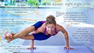 Eight Angle Pose (Astavakrasana) Step by Step with Karlee