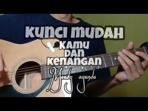 Tutorial Guitar Mudah Kamu Dan Kenangan - OST Habibie Ainun 3 | Maudy Ayunda