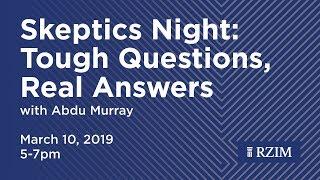 Livestream Abdu Murray speaking at Skeptics Night at CCV SoCal