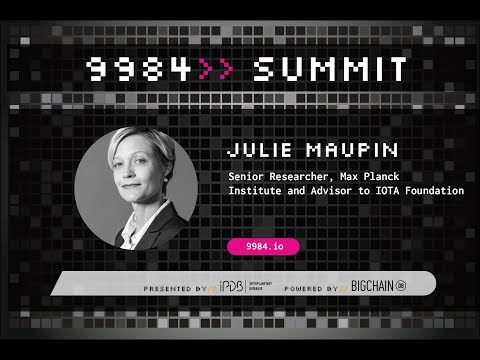 Dr. Julie Maupin, IOTA Foundation | Going the Last Mile