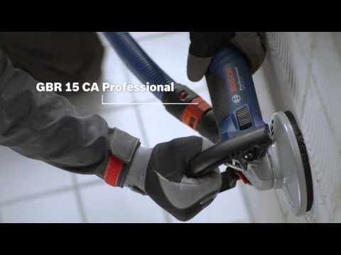Bosch Betonschleifer GBR 15 CA Professional / GBR 15 CAG Professional