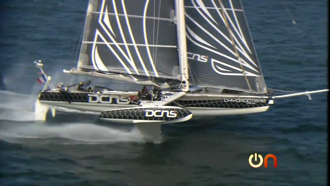 always on flying on the world s fastest sailboat youtube