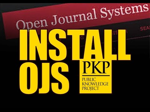 Install Open Journal System