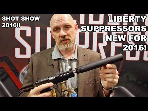 Liberty Suppressors Centurion & Cosmic X! New for 2016
