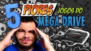 Os 5 Piores Jogos de Mega Drive! [Canal 90]