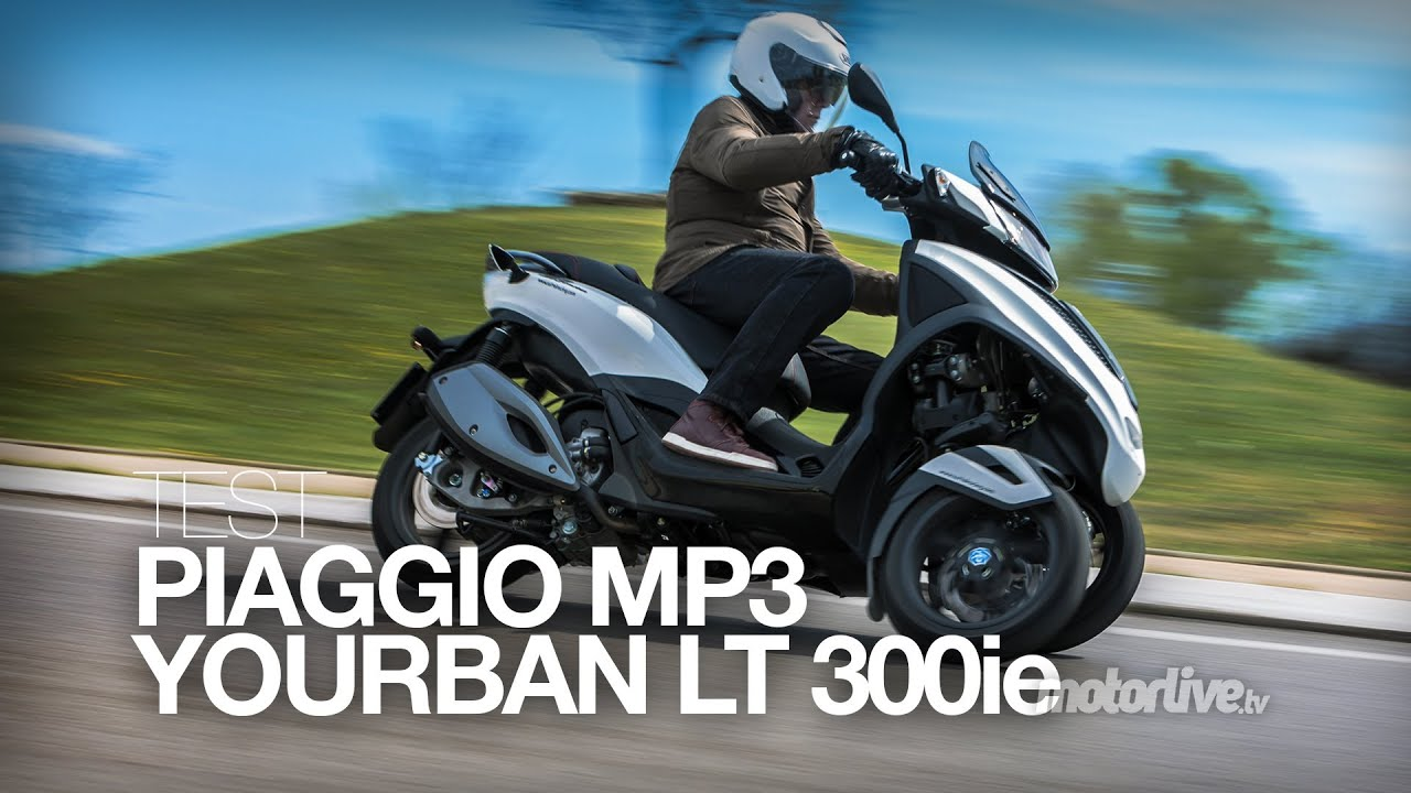 test piaggio mp3 yourban 300 lt sport youtube. Black Bedroom Furniture Sets. Home Design Ideas