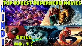 Top 10 Best superhero movies after Avengers EndGame| Best marvel movies,DC | Hindi CAPTAIN HEMANT