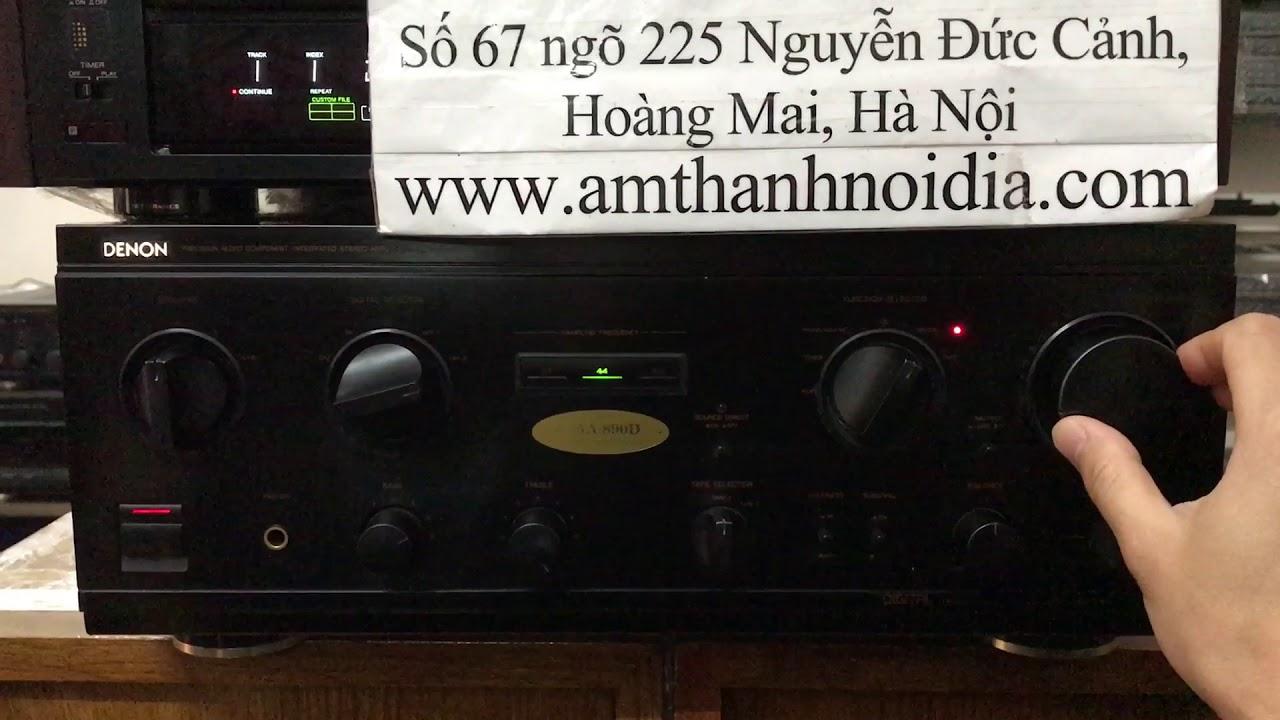 Amly denon 890d tem trứng mới về Thắng Audio 0983698887