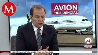 Gustavo Jímenez Pons, posible comprador del avión presidencial