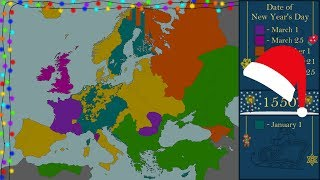 The History of New Year (New Year's Day) in Europe - Every Year