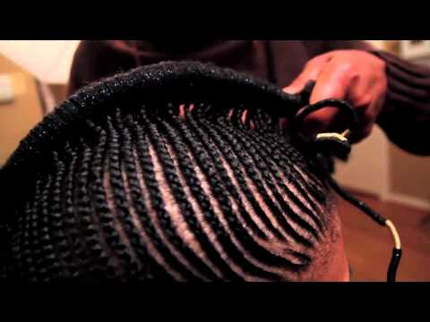 Getting braided with Goapele