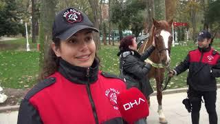 İstanbul Emniyetinin kadın süvarileri ilk devriyede (2)