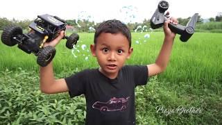 Unboxing Mobil Remot 4WD Crawler | Mainan Anak Laki-laki | RC Offroad Car 4x4 Batman 2.4G