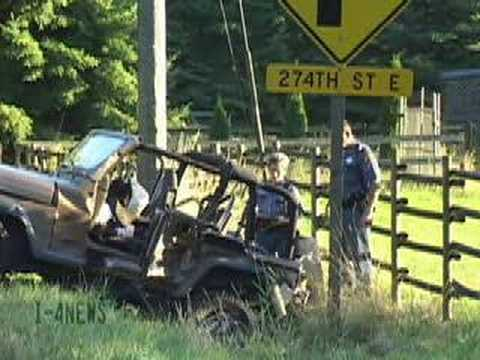 Fatal Jeep Wrangler Vs Ford Pickup T Bone Accident Graham