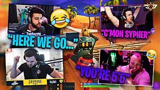 COURAGE AND LUPO CAST TIM AND SYPHER! TIM IS TOXIC! (Fortnite: Battle Royale)