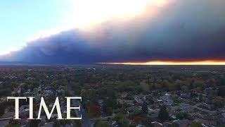 27,000 People Told To Evacuate California Town Of Paradise Due To Impending Wildfire | TIME