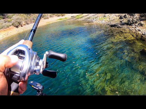 Bass Fishing: Finesse Tips For Fishing Crystal Clear Water!