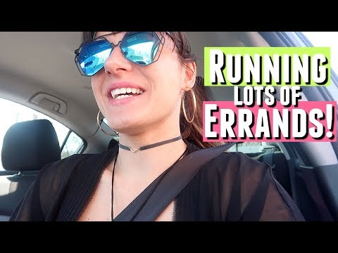 RUNNING ERRANDS OVER THE WEEKEND VLOG! Dome for GoPro Unboxing and what it does!