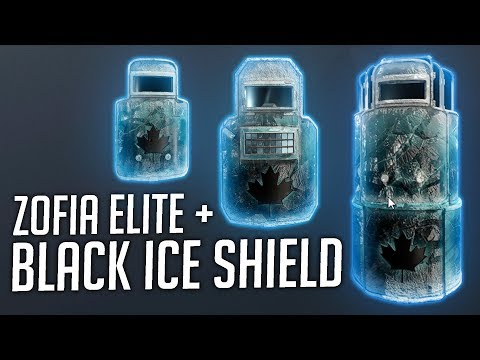 Black Ice For Shields On TTS + Zofia Elite Set!