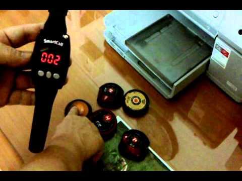 Wrist Watch Type Wireless Waiter Server Paging System