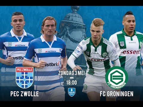 Pec Zwolle vs Fc Groningen KNVB Bekerfinale 3-05-2015 ...