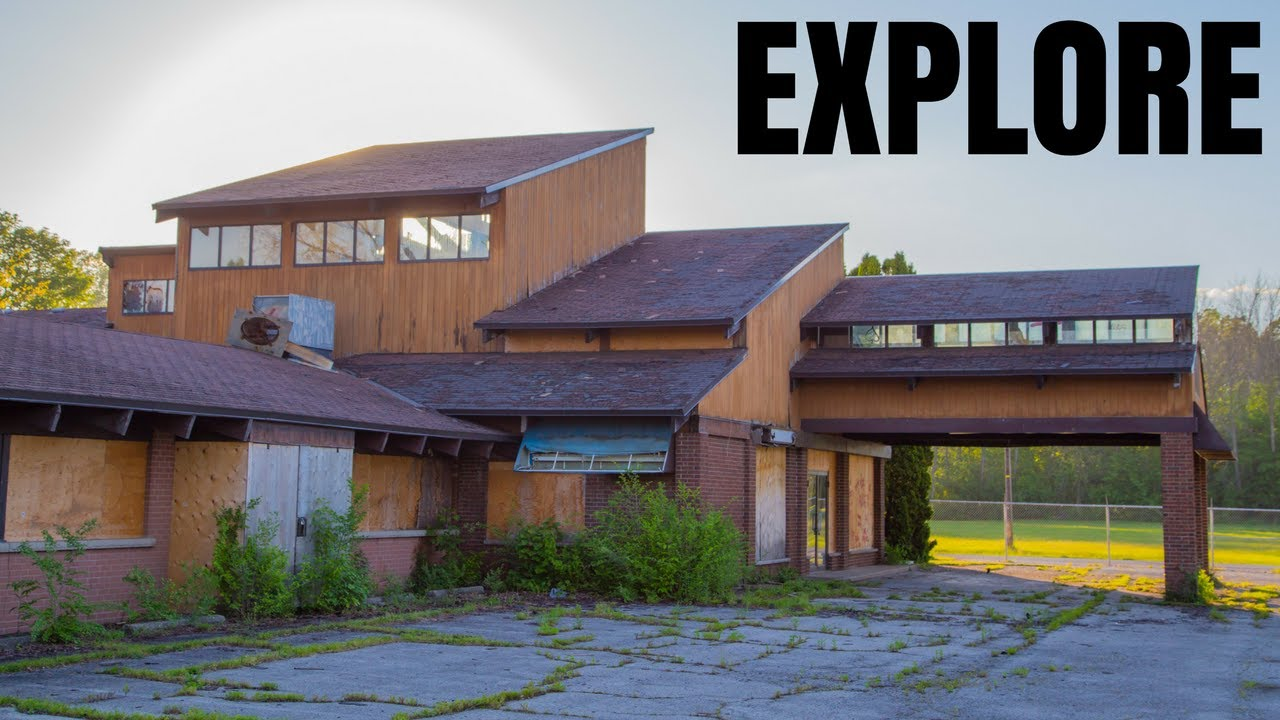 Explore - Abandoned Vintage Motel - YouTube
