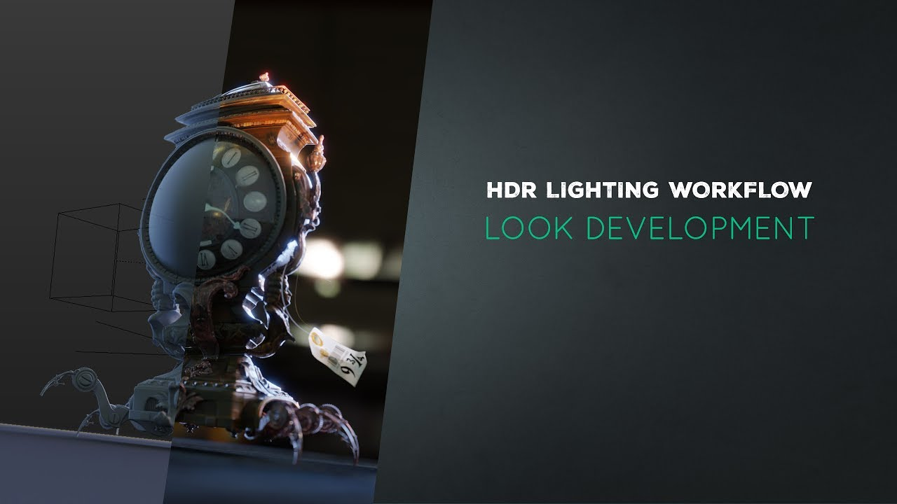 Hdr Lighting In Blender Look