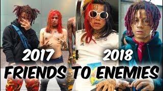 The History of 6ix9ine & Trippie Redds Beef (Friends To Enemies)