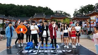 2018/08/28💎EP196💎 김포 버스킹 AF SHOW! 한옥마을? 아트빌리지! (춤추는곰돌:AF STARZ)