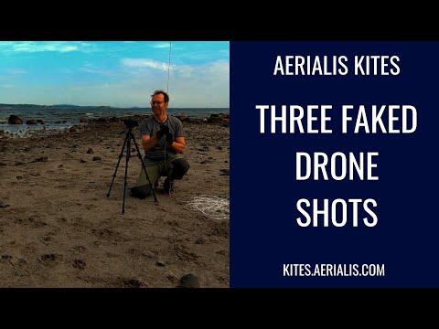 Three Faked Drone Shots