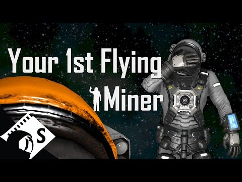 Space Engineers Tutorial: Build A Planetary Mining Ship (Part 2 of a survival tutorial series)