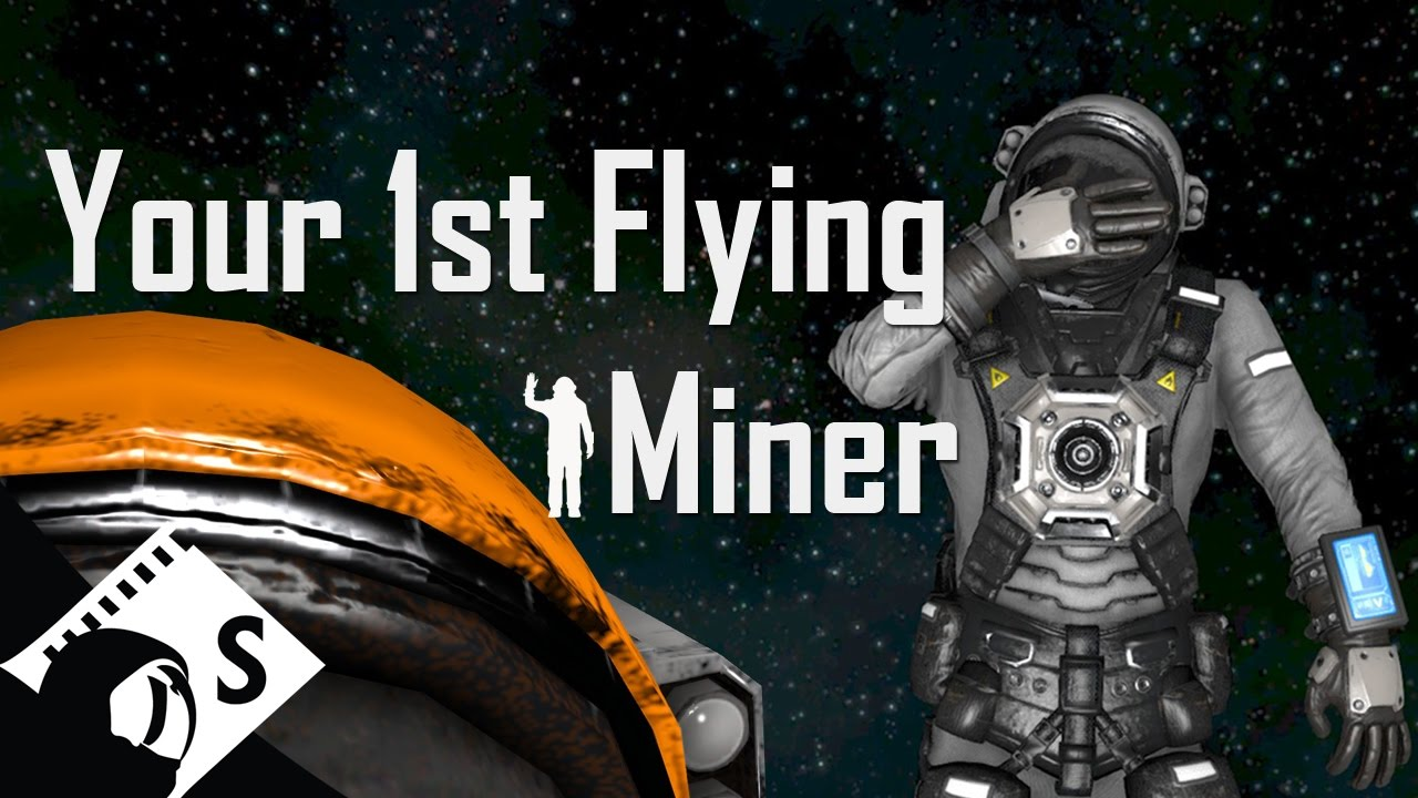 Space Engineers Tutorial Build A Planetary Mining Ship Part 2 Of A Survival Tutorial Series Youtube