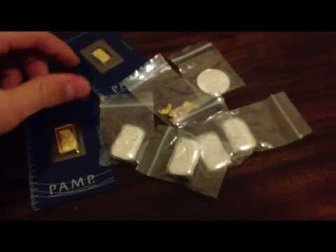 Bullion collection - gold silver (start investing) MUST WATCH