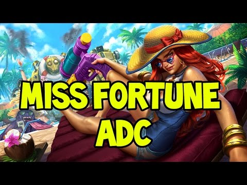 POOL PARTY MISS FORTUNE ADC GAMEPLAY - League of Legends
