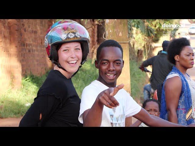 Veilig op de bodaboda met fashionable helm