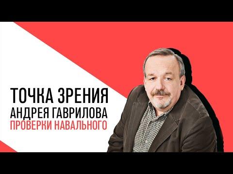 «Потапенко будит!», Точка зрения Андрея Гаврилова, о проверках у Навального