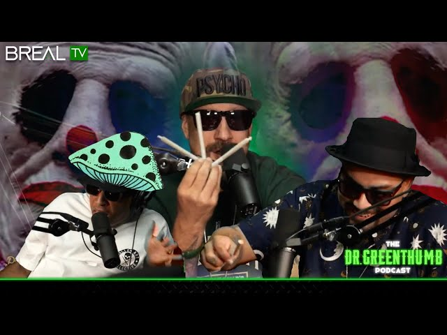 The Dr. Greenthumb Show Ep. 88 | Bobo's EPIC Mushroom Tea, Wrinkles The Clown, Joint Roll Off + More