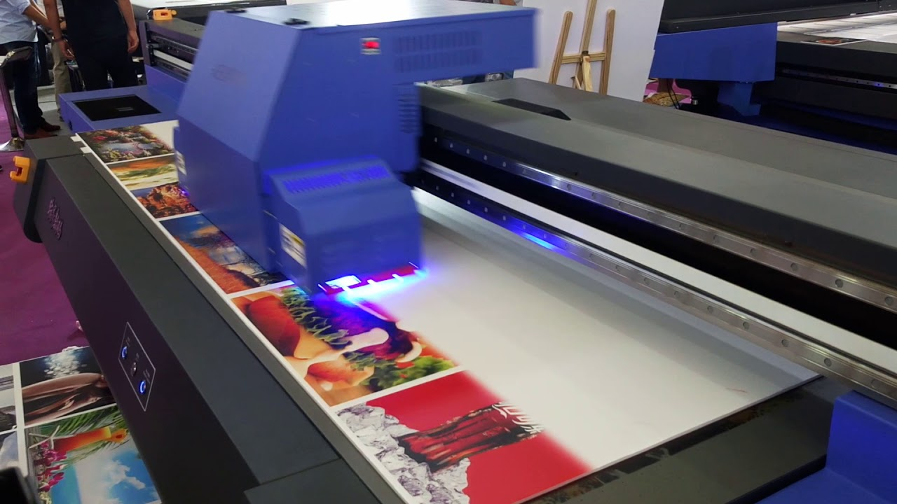UV flatbed UV  printer