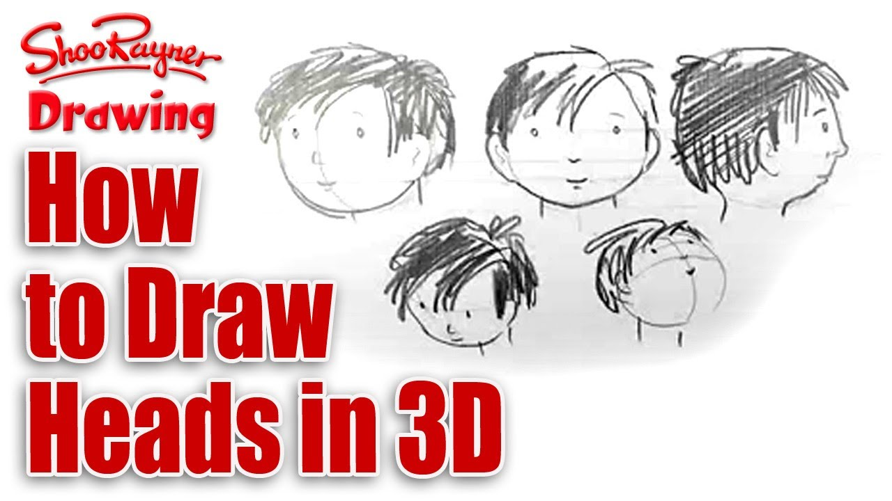 Illustration Master Class Draw A Face From Many Different Angles Youtube