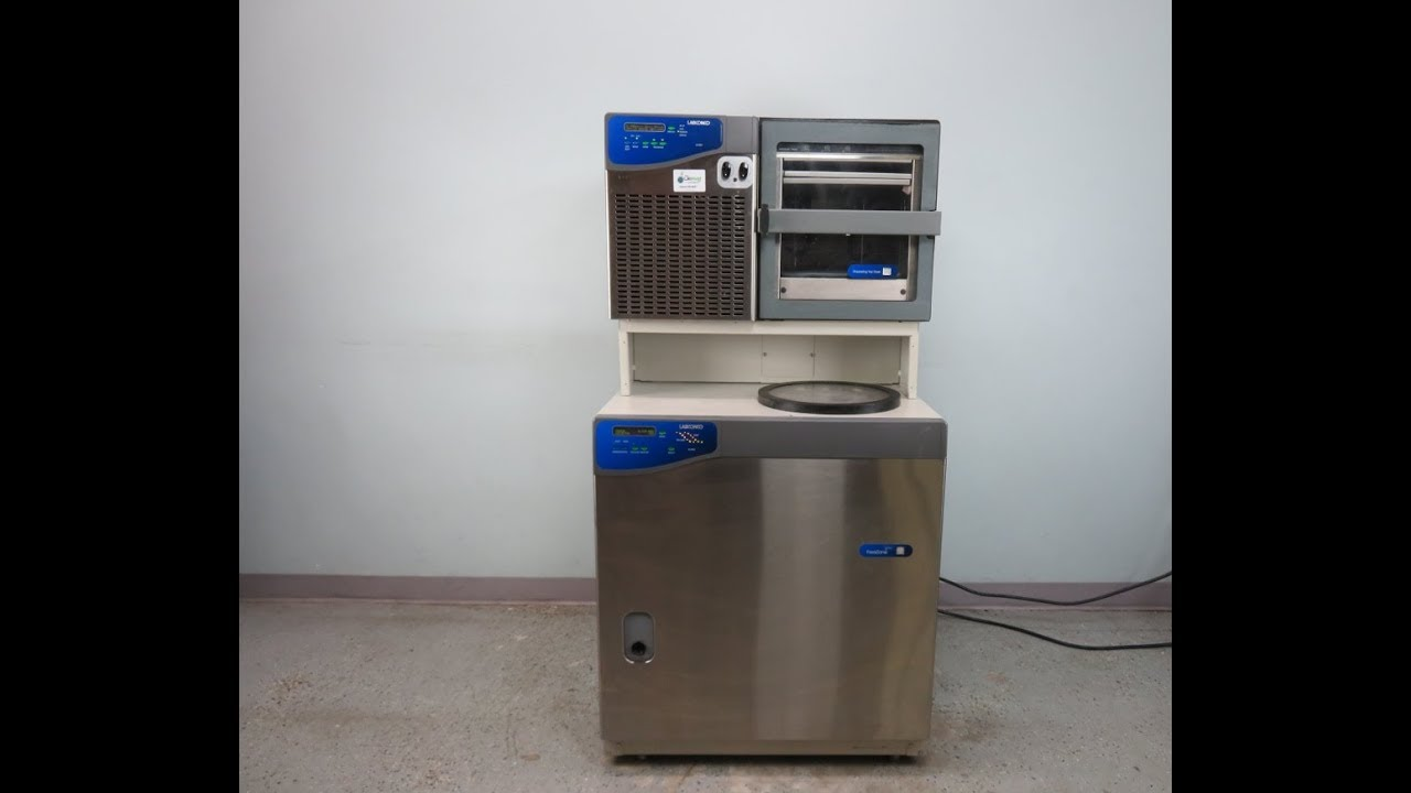 Labconco Freezone 6 Plus Freeze Dryer With Stoppering Tray