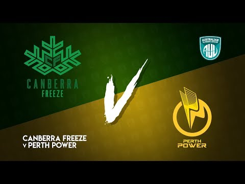 Canberra Freeze v Perth Power | AUL 2018