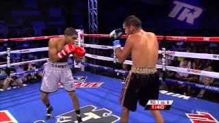 Gamalier Rodriguez vs Martin Cardona full fight  | Showtime HBO Boxing 2015