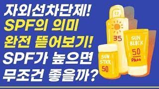 [모던피플 10분상식] 자외선차단제 SPF의 의미! 엄…