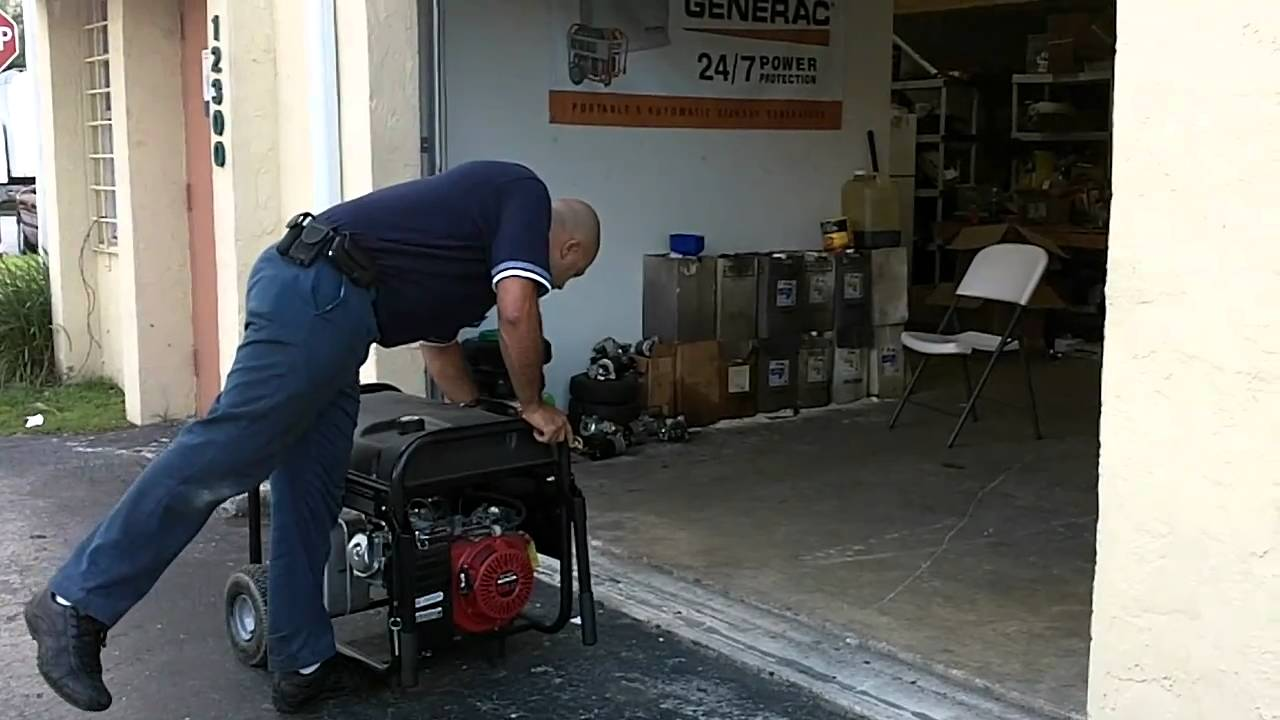 Generac Generator: How to Shut Down A Portable Generator
