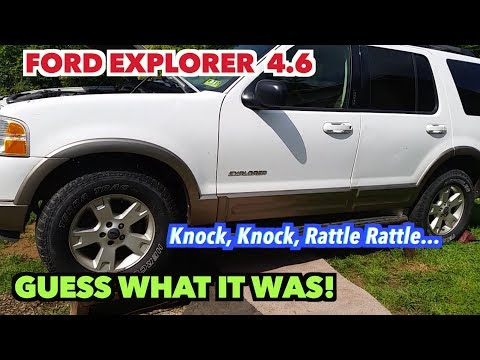 2003 Ford Explorer Motor Noise...NOT!! I found the Knock ...  Ford Explorer Engine Diagram Knock on