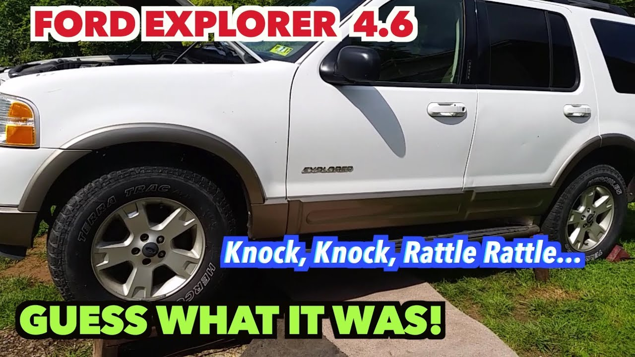 2003 Ford Explorer Motor Noise   NOT!! I found the Knock noise! -Yea!