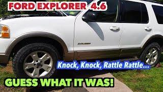 Baixar 2003 Ford Explorer Motor Noise...NOT!! I found the Knock noise! -Yea!