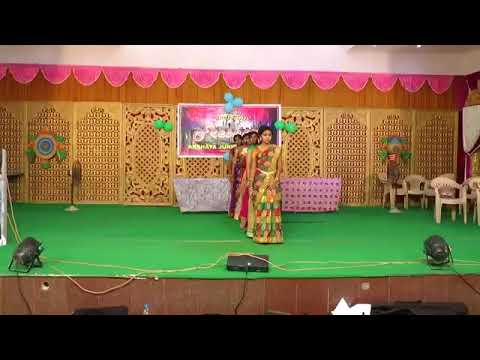 Akshaya College Bonalu Dance Performance